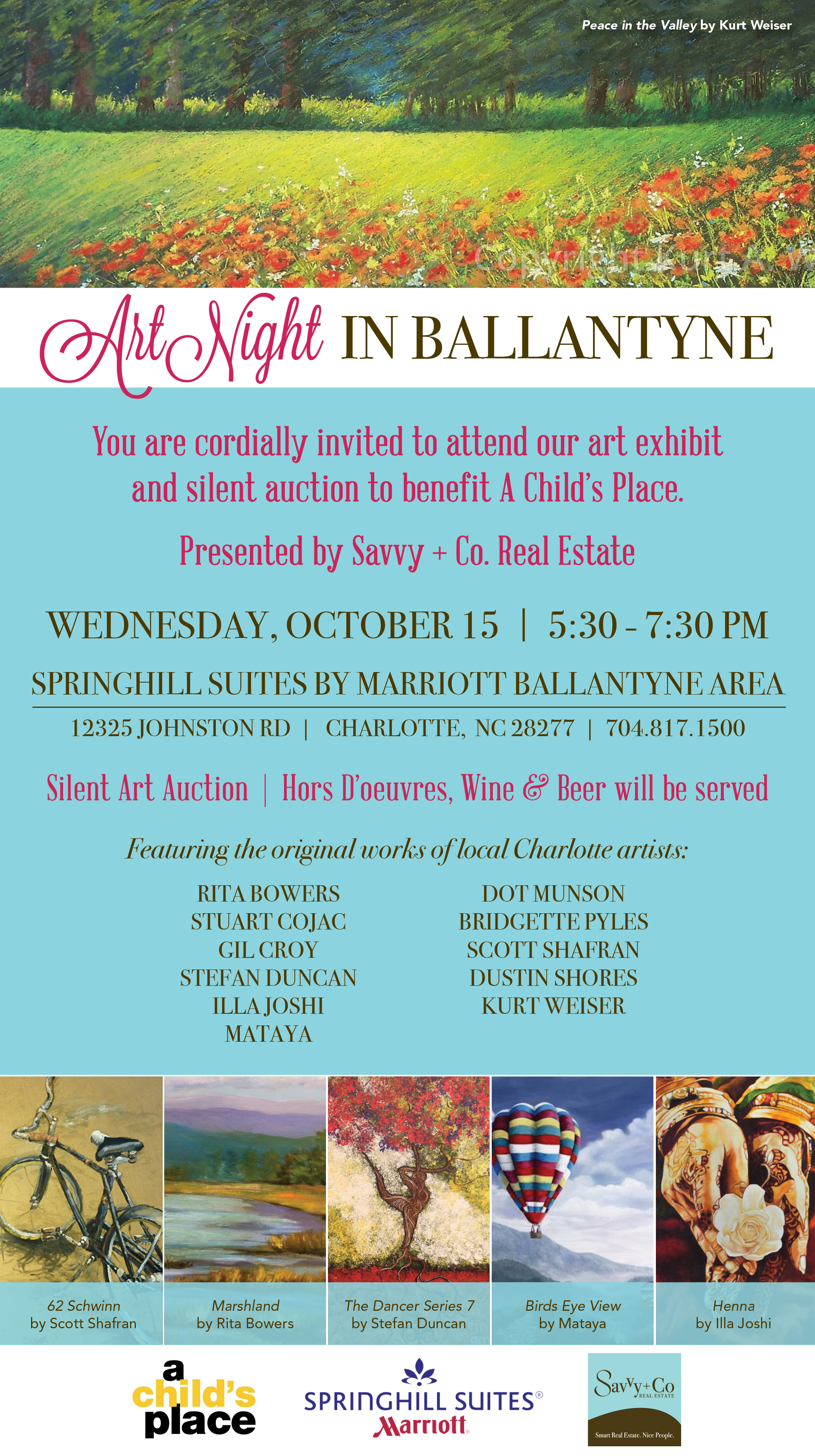 Invitation_Ballantyne Art and Real Estate Event_October 2014_Emailable Version