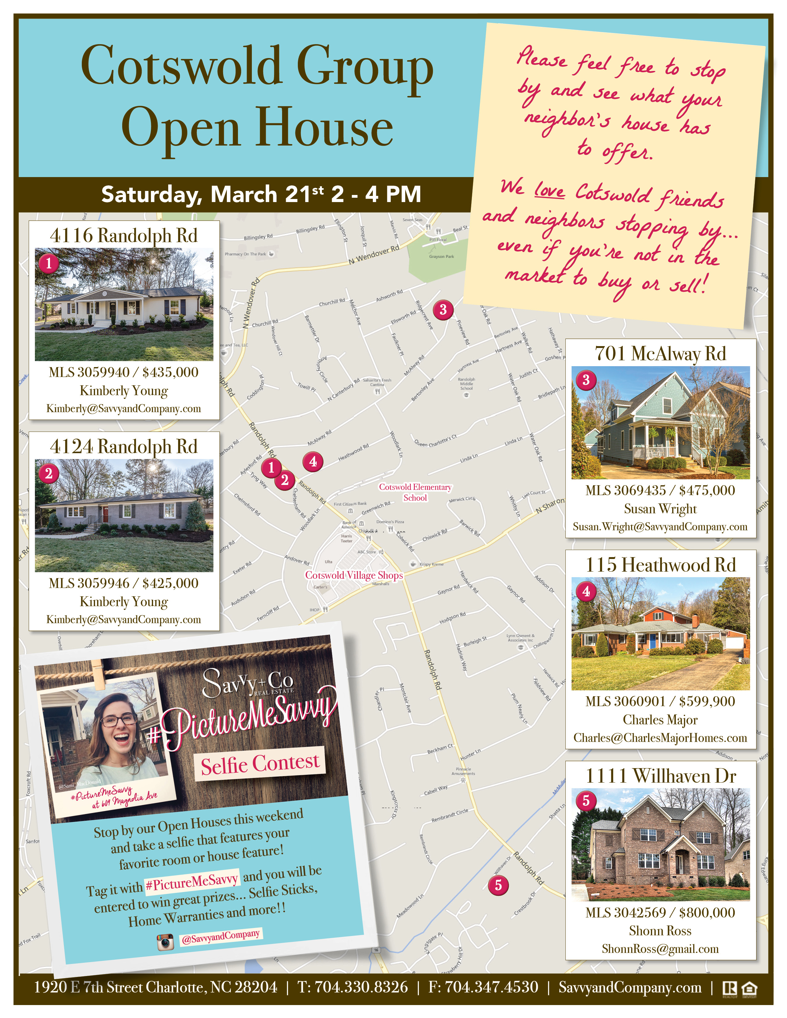 Flyer_Open House_Shonn Ross_1111 Willhaven Dr_Group Open House2