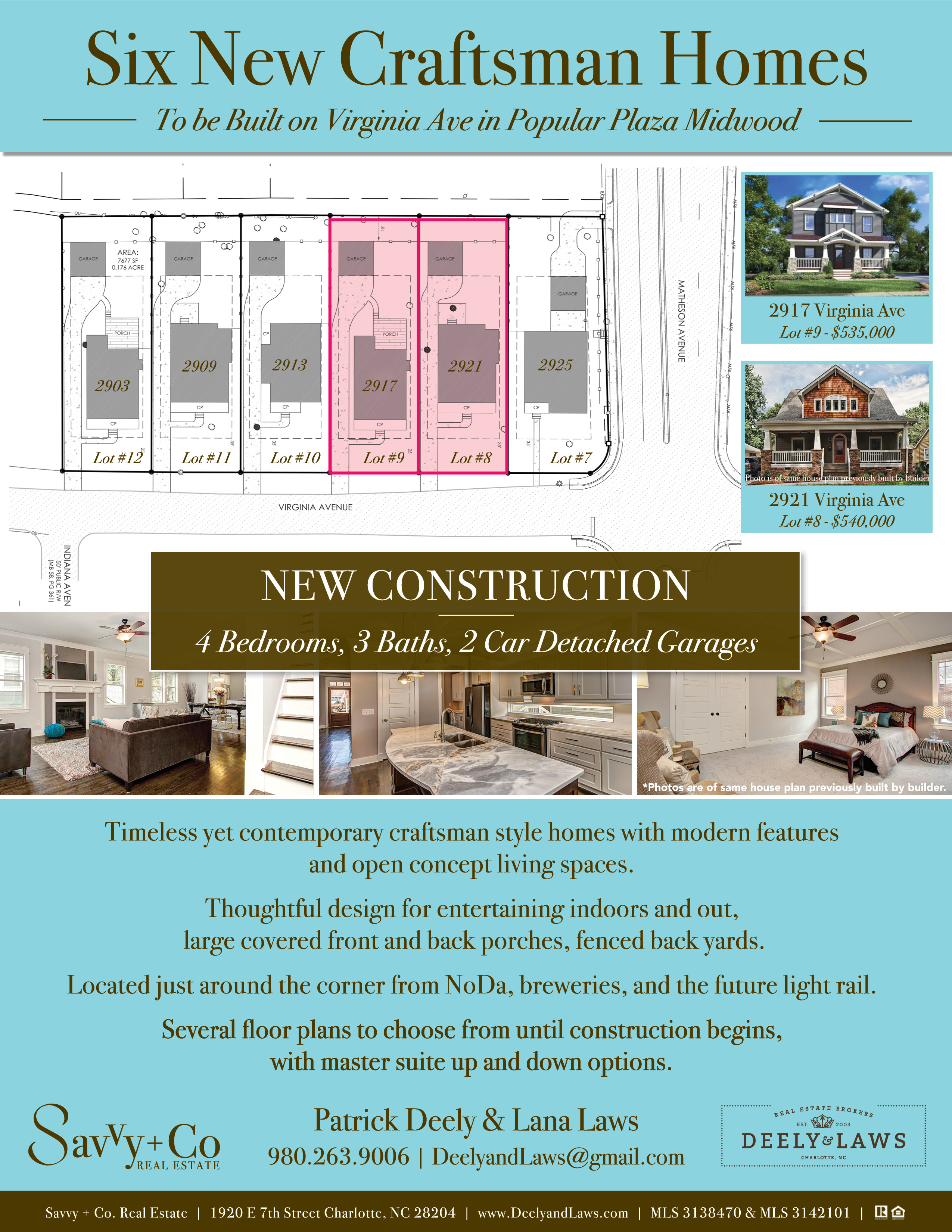 Flyer_Virginia Ave Homes_Deely and Laws