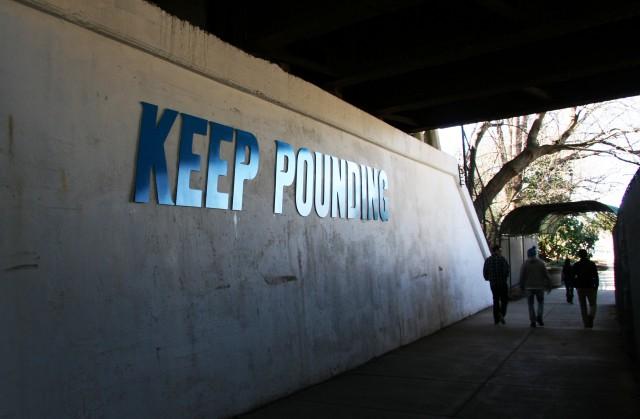 Keep Pounding
