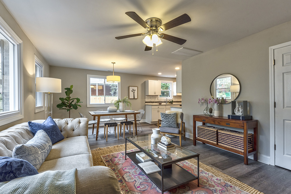 Just Listed! Totally Adorable + Freshly Renovated Full Brick Ranch