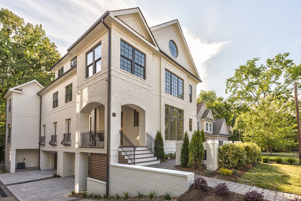 Double the luxury! Custom duet-style homes available in Historic Dilworth